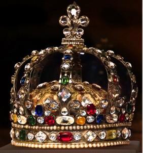 La couronne du sacre de Louis XV