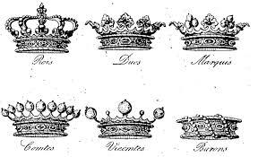 Couronnes noblesse