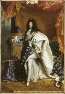 Louis XV tenant l'épée