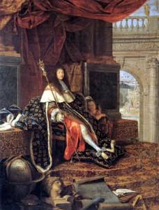 louis_XIV par Henri TESTELIN