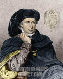 Charles VI, King of France - portrait