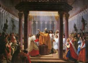 Clovis Baptème