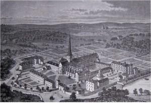Abbaye de Port Royal des Champs reconstitution