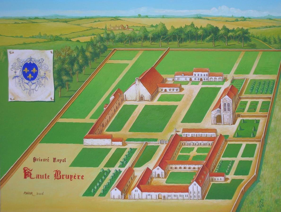 Les abbayes royales pr sence du souvenir bourbonien en for Haute bruyere