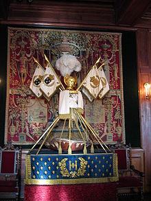 Carapace-berceau_d'Henri_IV_(château_de_Pau)